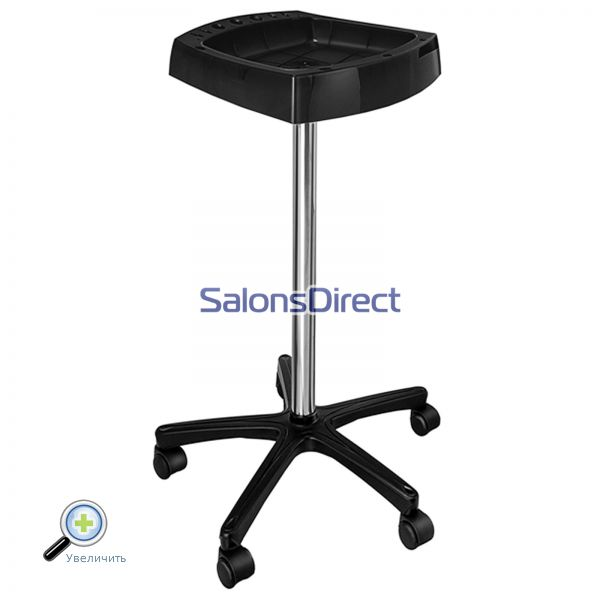 Тележка парикмахерская Ceriotti Duty Trolley Standart Wheels Black 7241