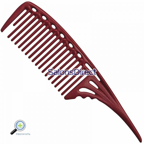 Y.S.Park 603 Large Tail Comb Red