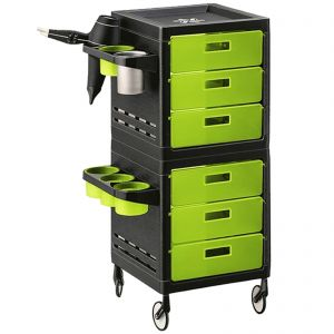 Ceriotti My Trolley Green 6 Boxes 7243