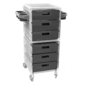 Ceriotti My Ice Trolley Black 6 Boxes 7245