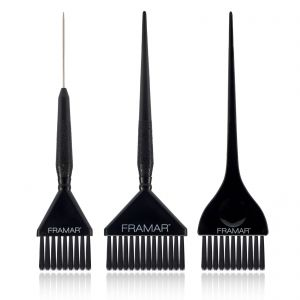 Framar 3 Piece Color Brush Set 91009